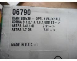 BRAKE DRUM REAR RIGHT Opel Corsa 1995 1.2 06790