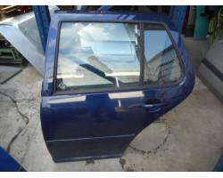DOOR COMPLETE REAR LEFT Volkswagen Golf 2000 1.4 16V