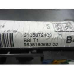 RAČUNALNIK BSI Peugeot 206 2001 2.0 CABRIOLET 9638160380 00