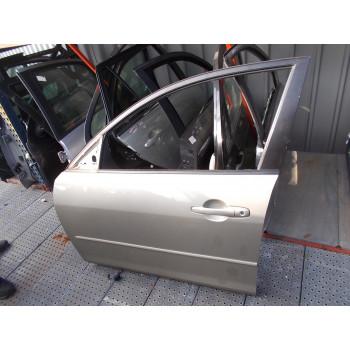 DOOR FRONT LEFT Mazda Mazda3 2005 1.6