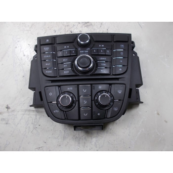 HEATER CLIMATE CONTROL PANEL Opel Astra 2012 SW 1.7 DTI 16V 13343707