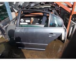 VRATA KOMPLET ZADAJ LEVA Škoda Superb 2006 2.5 TDI AUT. 3U5833051B