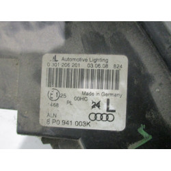 HEADLIGHT LEFT Audi A3, S3 2005 2.0 TDI 8P0941003K
