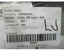WINDOW REAR LEFT Fiat Doblo 2002 1.2 FIA3354.030GL