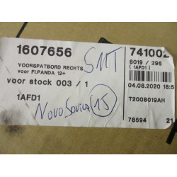 FENDER RIGHT Fiat Panda 2012  1607656
