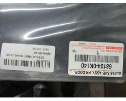 STEKLO  ZADAJ LEVA Toyota Hilux 2006  68104-0K140