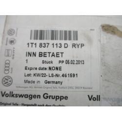 KLJUKA NOTRANJA SPREDAJ LEVA Volkswagen Touran 2008  1t1837113d
