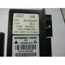 MEHANIZEM ŠIPE  ZADAJ DESNA Audi A4, S4 2005 2.0TDI AVANT 8E0959802E
